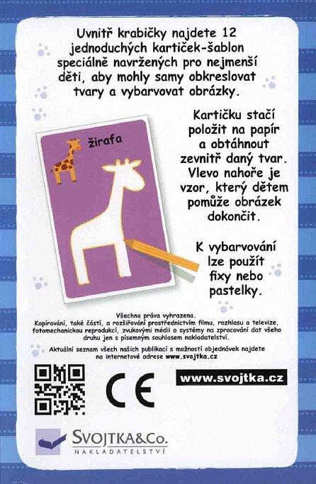 Náhled První obkreslovací kartičky - Zvířátka
