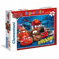 Puzzle Maxi Auta 104 dílků