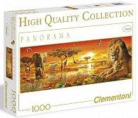 Puzzle Panorama 1000 dílků Africká savana