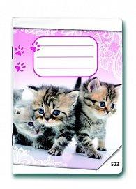 Sešit 523 Koťátka