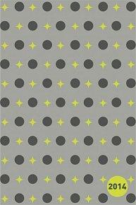 Diář 2014 - Hvězdy zelené - Týdenní magnetický (ČES, SLO, MAĎ, POL, RUS, ANG)