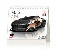 Kalendář 2014 - MiniMax Auta - stolní