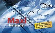 Maxi kalendář - stolní kalendář 2014