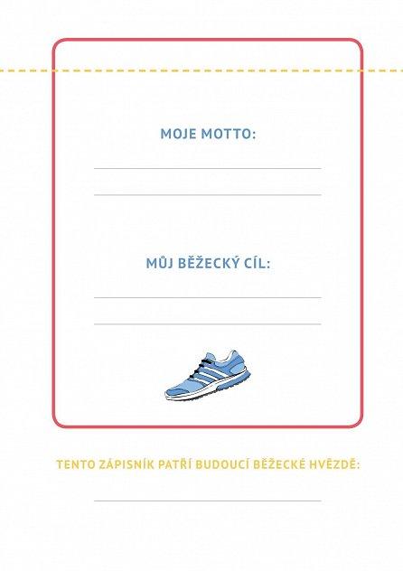 Náhled Zápisník běžkyně