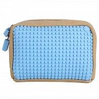 Pixelová Příruční Taška Světle Modrá