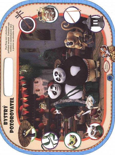 Náhled Kung Fu Panda 3 - 3000 úžasných samolepek