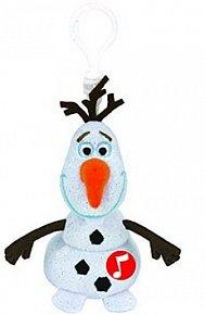 Beanie Babies Lic OLAF klip – sněhulák se zvukem