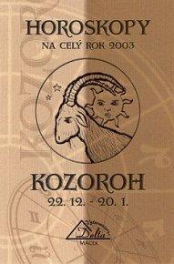 Horoskopy na celý den 2003 - Kozoroh