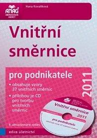 Vnitřní směrnice pro podnikatele 2011 + CD