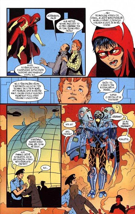 Náhled Blesk komiks 04 - Dechberoucí zázrak - Zrození zla 03/2016