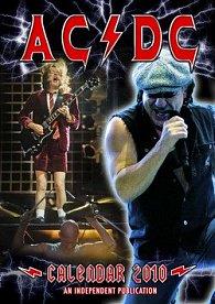 AC DC 2010 - nástěnný kalendář