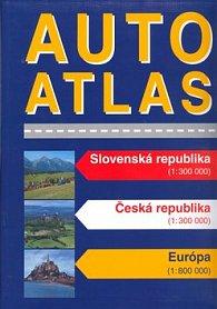 Autoatlas Slovenská republika Česká republika Európa