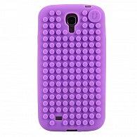 Samsung S4 Pixel Case fialová