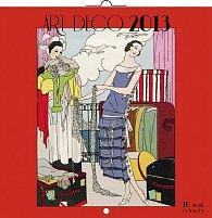 Kalendář 2013 poznámkový - Art Deco, 30 x 60 cm