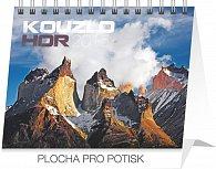Kalendář 2015 - Kouzlo hor Praktik - stolní