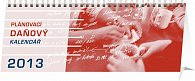 Kalendář 2013 stolní - Plánovací daňový, 33 x 12,5 cm