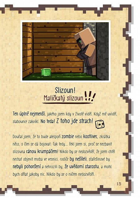 Náhled Deník malého Minecrafťáka 2