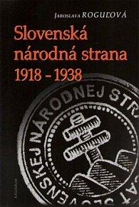 Slovenská národná strana 1918 - 1938