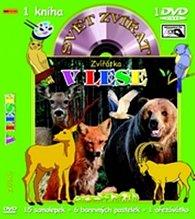 Svět zvířat - Zvířátka v lese (kniha omalovánek s DVD)