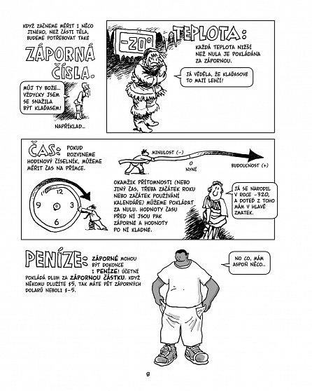Náhled Algebra - Zábavný komiksový průvodce