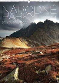 Národné parky Slovenska - nástěnný kalendář 2014