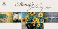 Monet´s Gallery 2011 - nástěnný kalendář