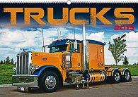 Kalendář 2013 nástěnný - Trucks, 48 x 33 cm