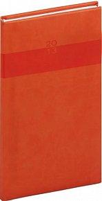 Diář 2013 - Aprint - Kapesní Praktik, oranžová, 9 x 15,5 cm