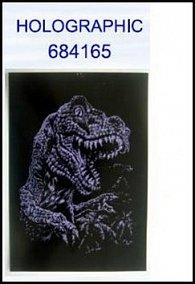 Škrabací obrázek A4 Dino HOLOGRAPHIC