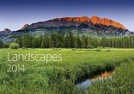 Kalendář 2014 - Landscapes - nástěnný