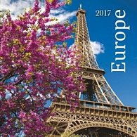 Europe 2017 - nástěnný kalendář
