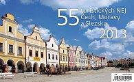 Kalendář stolní 2013 - 55 turistických Nej Čech, Moravy a Slezka