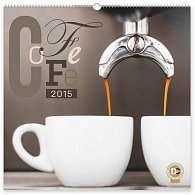Kalendář 2015 - Káva - nástěnný s prodlouženými zády