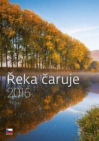 Kalendář nástěnný 2016 - Řeka čaruje