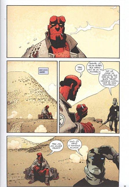 Náhled Hellboy: Pekelná knižnice kniha třetí