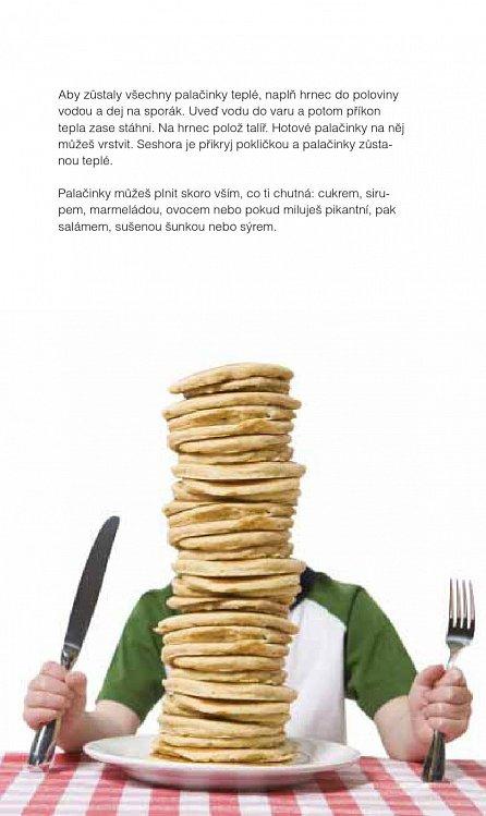 Náhled Malý šéfkuchař - sada (kniha, zástěrka, stěrka na těsto)
