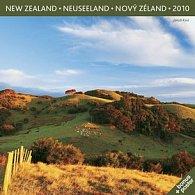Nový Zéland Jakub Kasl 2010 - nástěnný kalendář