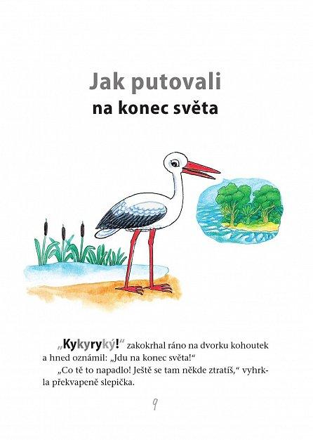 Náhled Kykyryký! Kohoutek a jeho kamarádi - Pohádky o kohoutkovi a slepičce