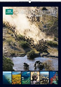 Kalendář 2013 nástěnný - BBC Planet Earth, 33 x 46 cm