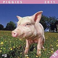 Kalendář 2011 - Prasátka (30x60) nástěnný poznámkový