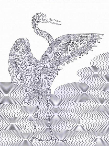 Náhled Zenové zahrady - Antistresové omalovánky s 60 ilustracemi
