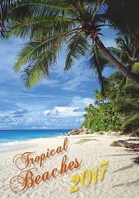 Kalendář nástěnný 2017 - Tropical Beaches