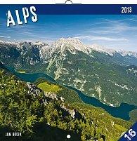 Kalendář 2013 poznámkový - Alpy Jan Hocek, 30 x 60 cm