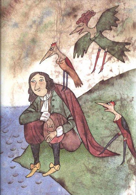 Náhled Bajky Jean de La Fontaine - Dvanáct knih s ilustracemi Adolfa Borna