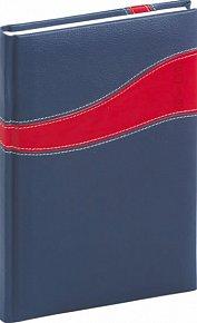 Diář 2013 - Calipso - Týdenní A5, modročervená, 15 x 21 cm