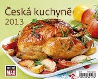 Kalendář stolní 2013 MiniMax - Česká kuchyně
