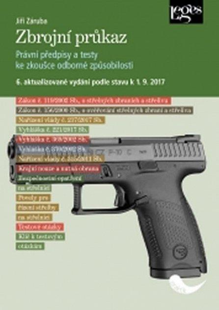 Náhled Zbrojní průkaz - 6. aktualizované vydání k 1. 9. 2017