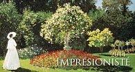 Impresionisté - stolní kalendář 2014