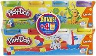 Play-Doh 4 kelímky modelíny + 4zdarma