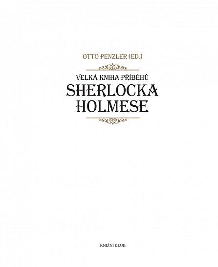 Náhled Velká kniha příběhů Sherlocka Holmese